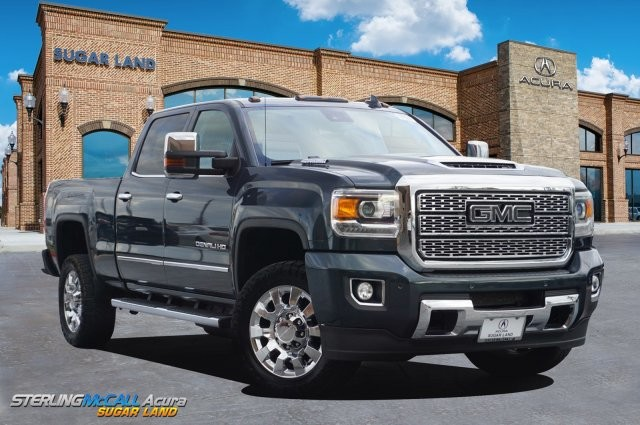 Sterling Mccall Gmc >> Pre Owned 2018 Gmc Sierra 2500hd Denali Diesel Four Wheel Drive Standard Bed Offsite Location