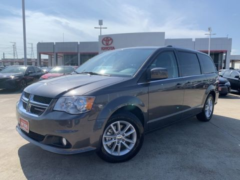 Pre-Owned 2018 Dodge Grand Caravan SXT **LEATHER**BACK UP CAMERA**ALLOY WHEELS**
