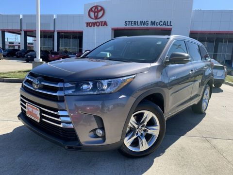 Certified Pre-Owned 2018 Toyota Highlander Hybrid Limited All Wheel Drive SUV - Offsite Location