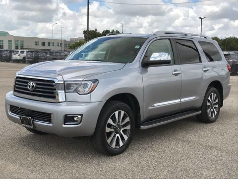 Certified Pre-Owned 2018 Toyota Sequoia Limited Rear Wheel Drive SUV - In-Stock