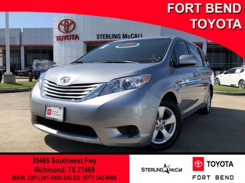 Certified Pre-Owned 2017 Toyota Sienna LE Front Wheel Drive Minivan/Van - Offsite Location