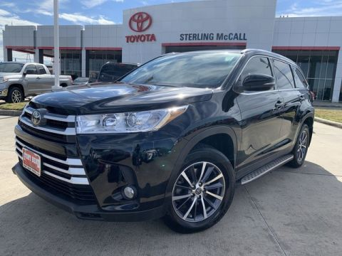 Certified Pre-Owned 2019 Toyota Highlander XLE Front Wheel Drive SUV - Offsite Location