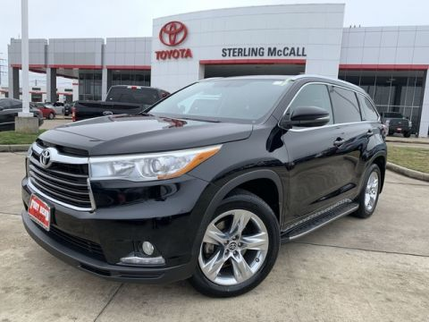 Certified Pre-Owned 2016 Toyota Highlander Limited Front Wheel Drive SUV - Offsite Location