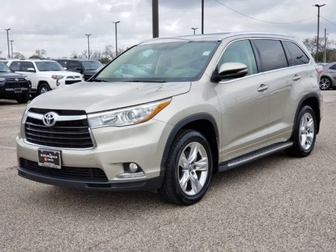 Certified Pre-Owned 2016 Toyota Highlander Limited Front Wheel Drive SUV - In-Stock