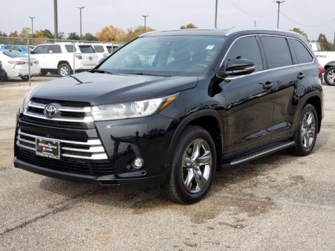 Certified Pre-Owned 2019 Toyota Highlander Limited Platinum Front Wheel Drive SUV - In-Stock