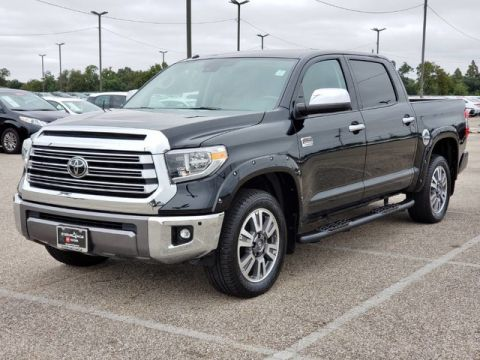 Certified Pre-Owned 2018 Toyota Tundra 2WD 1794 Edition Rear Wheel Drive Pickup Truck - In-Stock